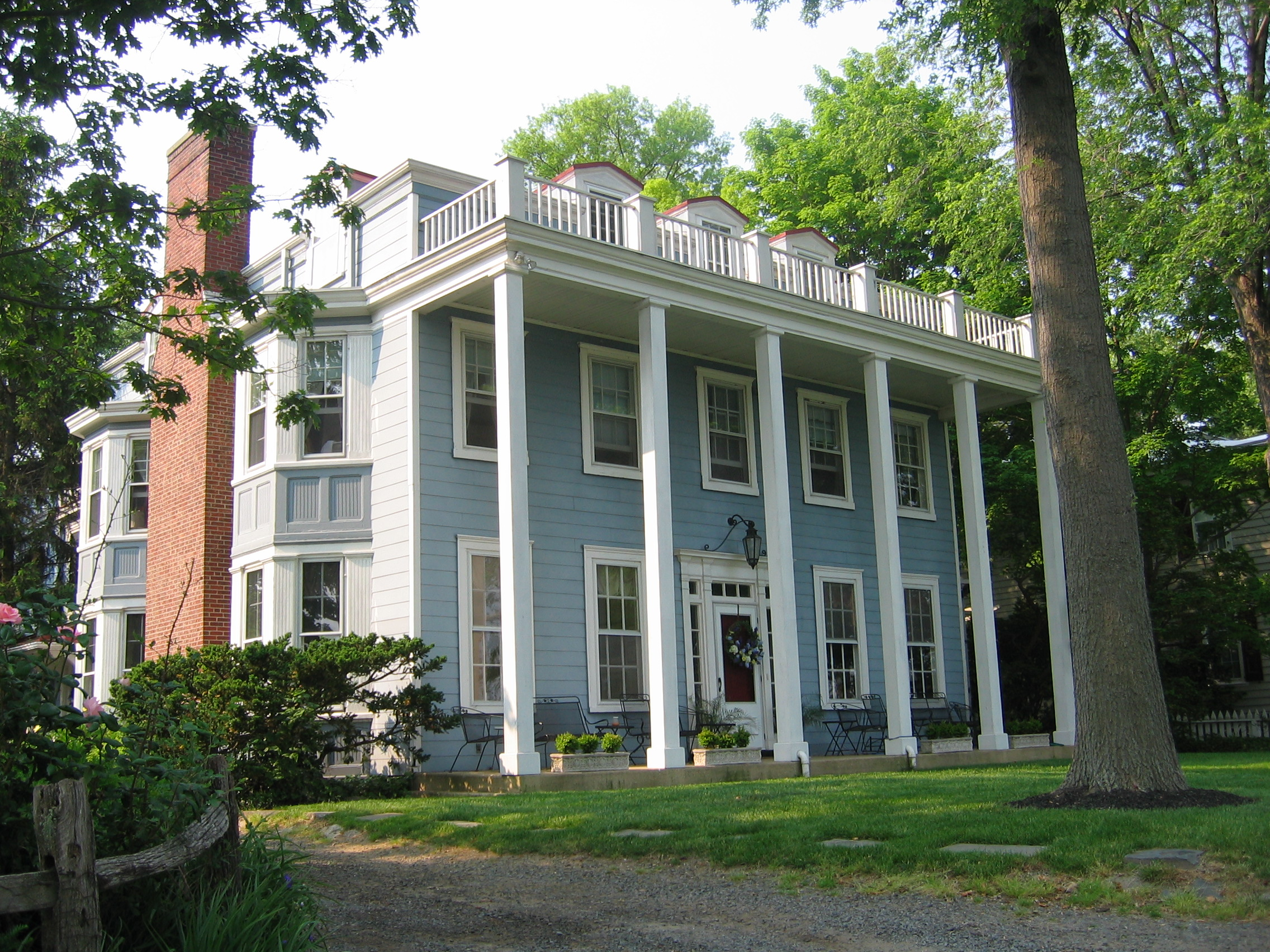 Greek Revival Style House Greek Revival Style Home Of A