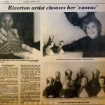 Bay Ruff Riverton artist chooses her canvas, BCT, Jan 3, 1983