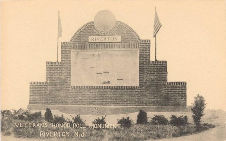 Veterans Honor Roll Monument, Riverton, NJ
