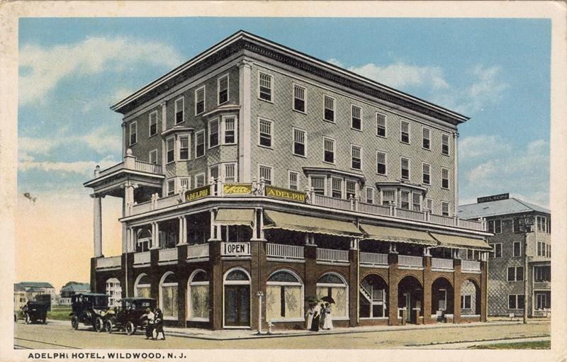 Adelphi Hotel Wildwood Nj 1923