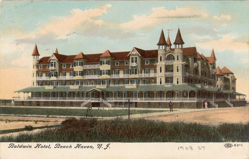 Baldwin Hotel, Beach Haven, NJ 1908