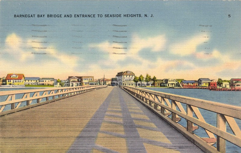 Barnegat Bay Bridge and Entrance to Seaside Heights, NJ [800x509]