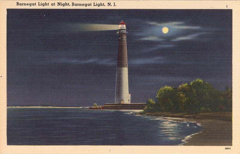 Barnegat Light At Night Barnegat Light Nj 800 215 513