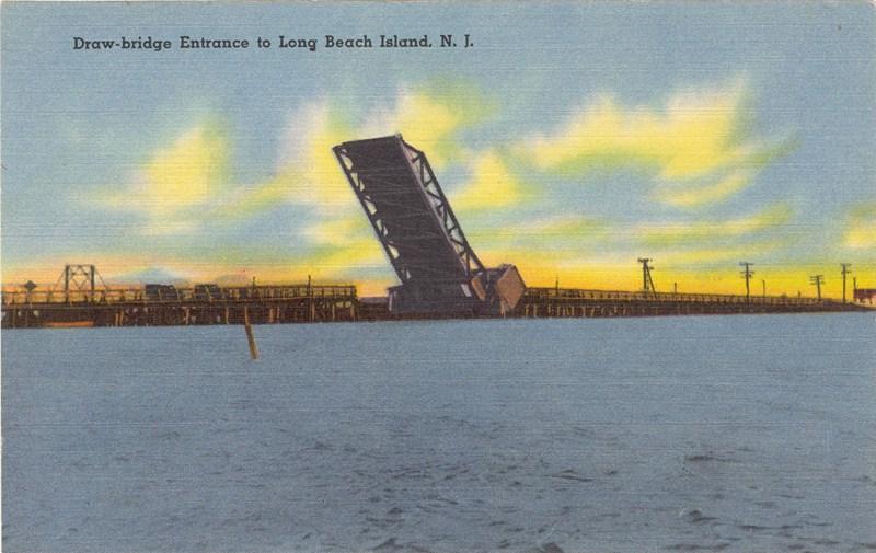 Draw Bridge Entrance To Long Beach Island Nj 800 505