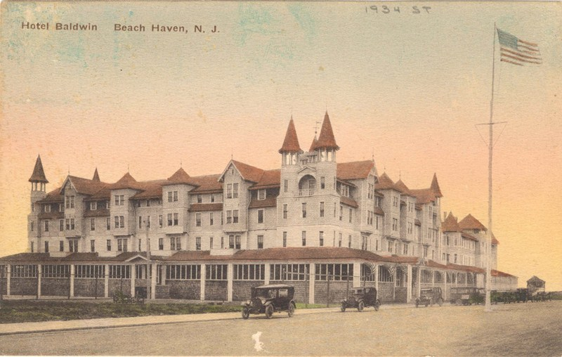 Our Family Spent A Couple Weeks Each Summer At Beach Haven Staying The Baldwin As Child This Spectacular Building Provided Exceptional Exploring