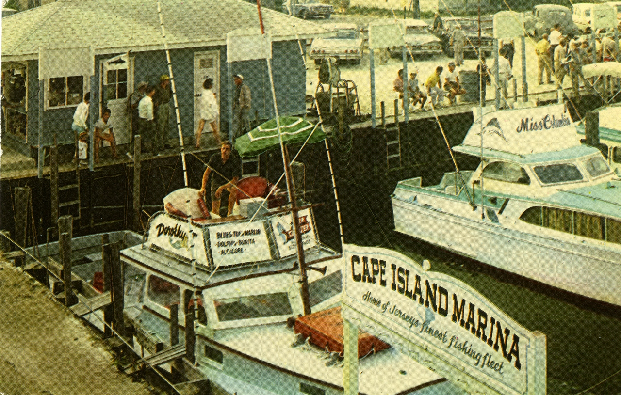Cape may wildwood nj images historical society of for Wildwood nj fishing charters