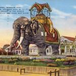 Elephant Hotel, Margate City, An Old Landmark, Atlantic City, NJ 1937 [800x516]