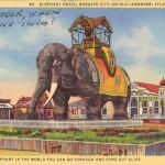 Elephant Hotel, Margate City, An Old Landmark, Atlantic City, NJ 1944 [800x508]