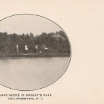 Lake Scene in Knight's Park, Collingswood, NJ