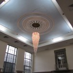 The very latest in crystal chandeliers - LED lighting