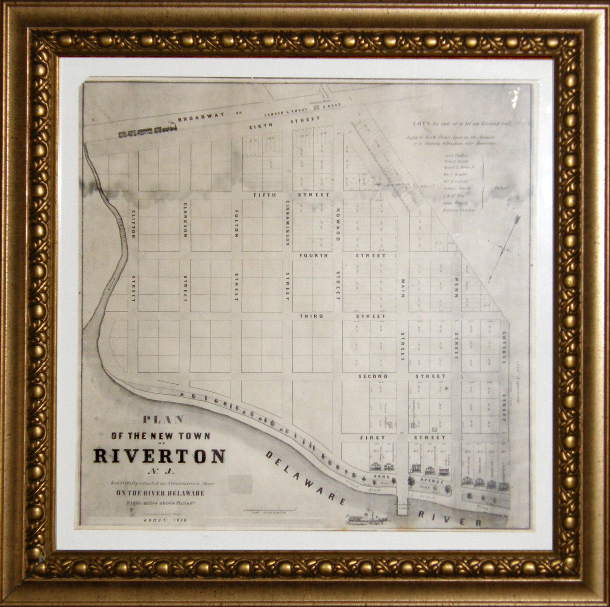 Clothier clan returns to founder s bank avenue home for The riverton