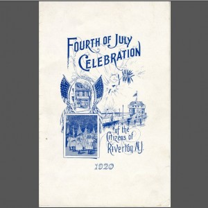 1920 Fourth of July Celebration Program