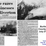 001_1979-07-27 JT Evans Fire BCT - Paul W. Schopp Collection