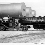 022_1939 Jan 27 - Evans oil delivery truck - J.F. Yearly photo