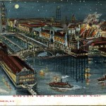 Bird's -Eye View of Coney Island by Night 1906
