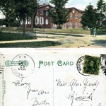 Friends High School, Moorestown, NJ 1908 - Litho Chrome Leipzig Berlin Dresden