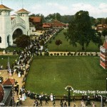 Midway from Scenic Railway, Willow Grove Park 1907