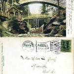Philadelphia, Devil's Pool, Wissahickon 1906 both sides