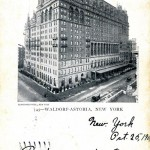 Waldorf Astoria, New York 1904