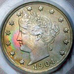 Real 1904 Liberty head nickel.   PHOTO CREDIT:  www.coinpage.com/