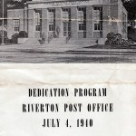 1940 July 4, dedication of Post Office booklet pg1