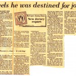 BCT, Feb 3, 1974, Feels he was destined for job,Yearly interview, from Mary Flanagan