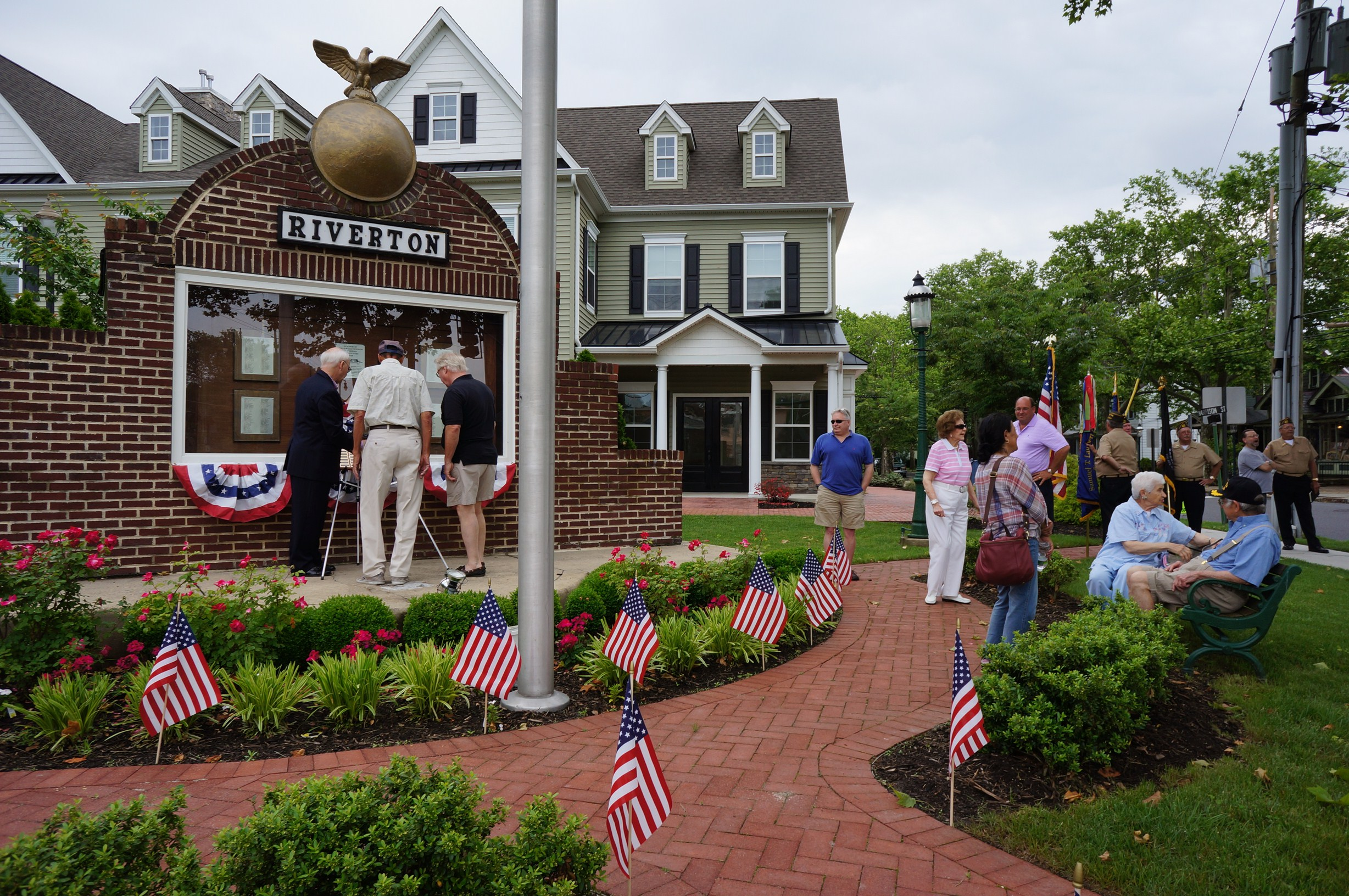 Memorial day marked by veterans friends and family may for The riverton