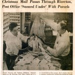 undated BCT Riverton Post Office Christmas mail spread1