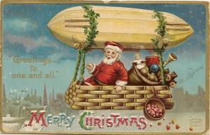 1909 Clapsaddle designed Christmas postcard