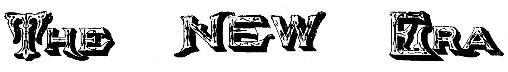 The New Era, 1894 logo