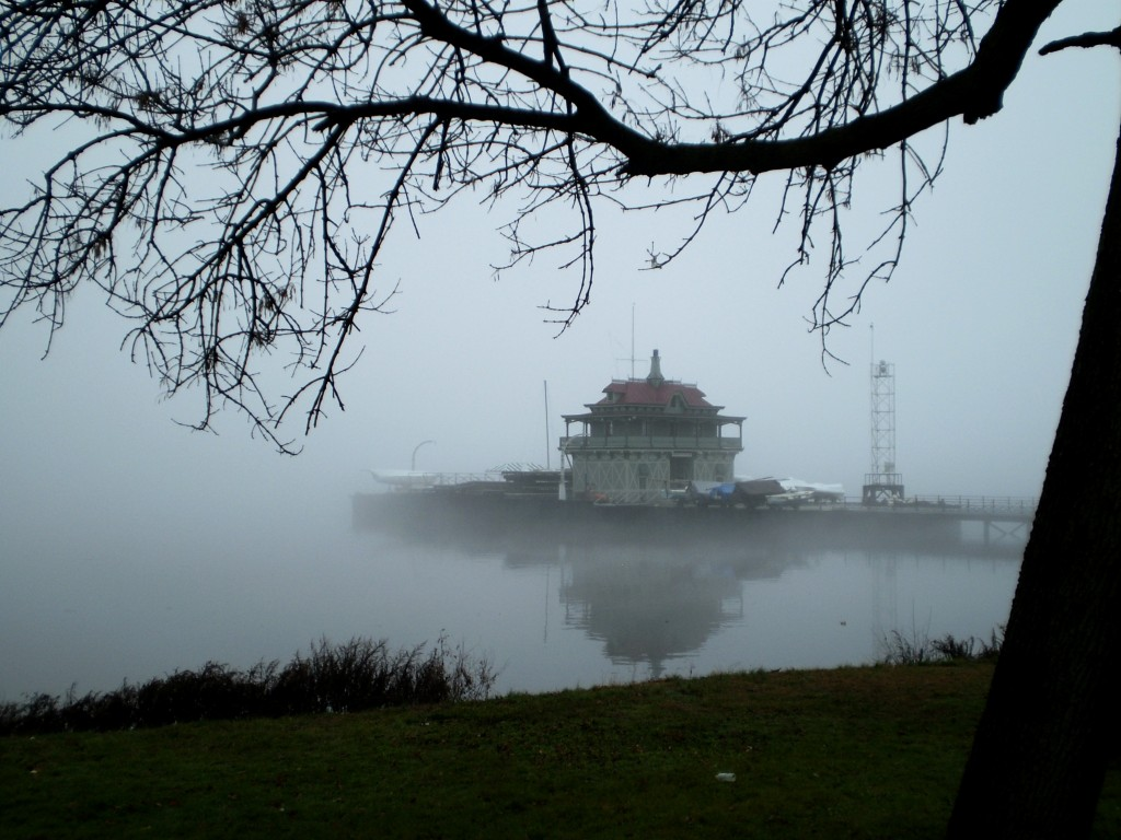A foggy day in the village, Dec. 10, 2012, by Dick Paladino