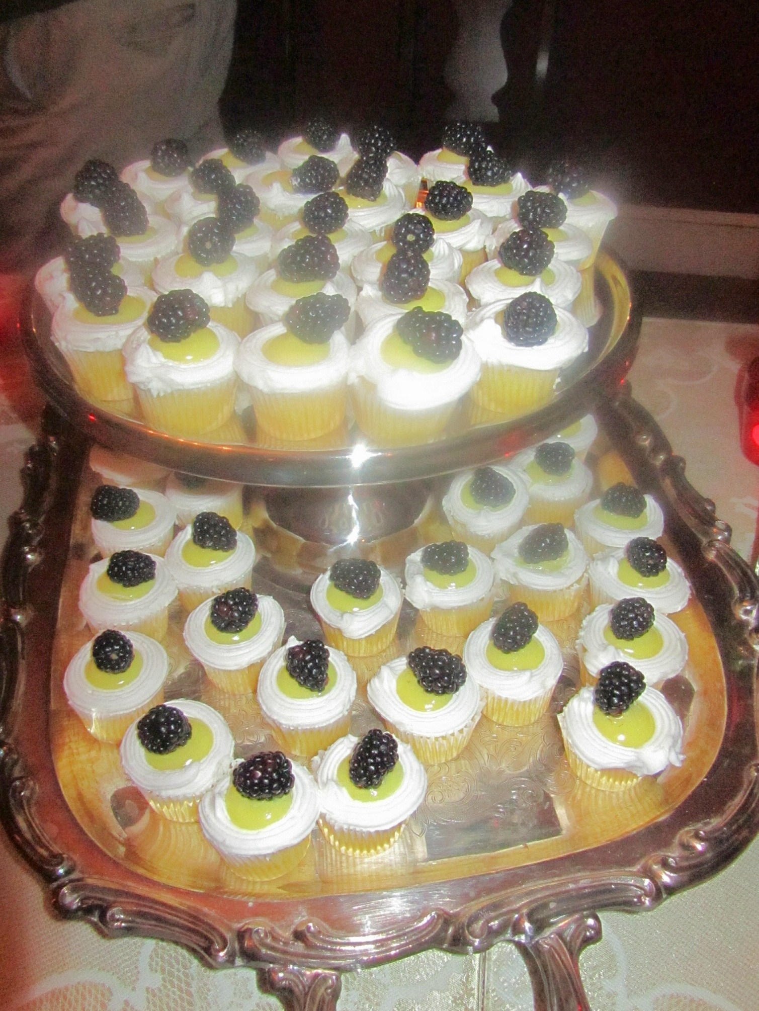 These lemony tea cakes were a particular hit.