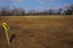 Riverton Grandstand demolished_Feb 6, 2013