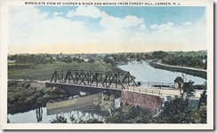 Birds-eye view of Coopers River and Bridge from Forest Hill, Camden, NJ (1280x777)