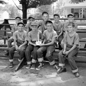 1954 Riverton Little League, picture credit: Benjamin Percival