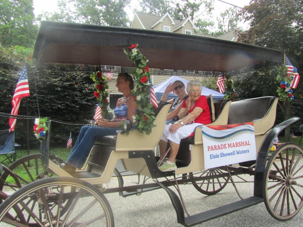 2013 Parade Marshal Elsie Waters