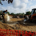 Grandstand construction 06-28-2013 01
