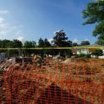 Grandstand construction 06-28-2013 07