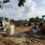 Grandstand construction 06-28-2013 08
