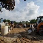 Grandstand construction 06-28-2013 09
