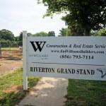 Grandstand construction 07-08-2013 03