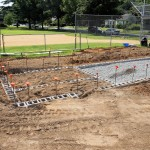 Grandstand construction 07-08-2013 05