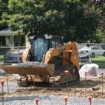 Grandstand construction 07-08-2013 08