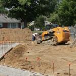 Grandstand construction 07-08-2013 09