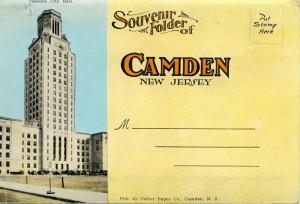 Camden Souvenir Folder cover