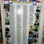 Veterans Poster, left side