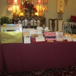 more HSR merch - flags, Romance of Riverton DVDs, notecards, RFCo. history book - sorry, no internet sales.