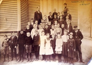 Gertrude Wright, undated Riverton School photo