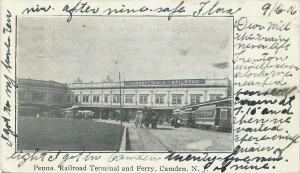 Pennsylvania R.R. Terminal & Ferry, Camden, NJ  1906