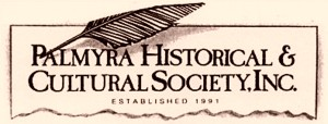 THE PALMYRA HISTORICAL AND CULTURAL SOCIETY logo2